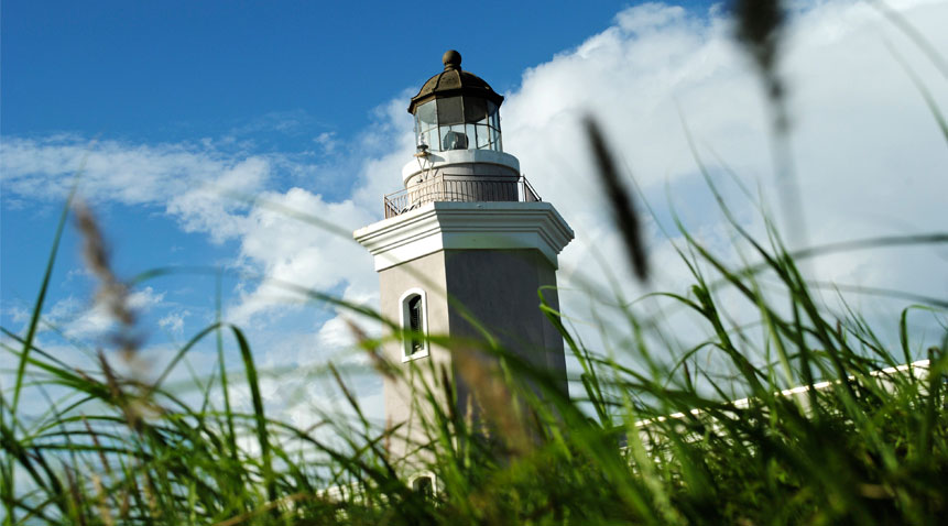 The lighthouse Los Morrillos in Cabo Rojo, which dates from 1881, stands above a 200-foot limestone cliff that offers dramatic views all around.