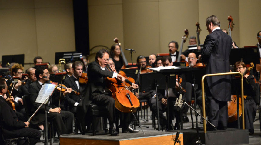 Cellist Yo-Yo Ma was the closing act at the 2015 Casals Festival in Puerto Rico.