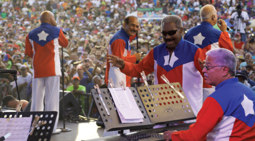 A previous National Salsa Day festival was dedicated to El Gran Combo, legendary salsa orchestra from Puerto Rico, to celebrate the band's 50th year anniversary.